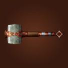 Galgann's Firehammer, Light Emberforged Hammer, Volcanic Hammer, Earthcaller's Mace Model