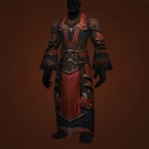 Deadly Gladiator's Mooncloth Robe, Deadly Gladiator's Satin Robe Model