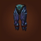 Sha-Skin Leggings, Leggings of Shadow Infestation Model