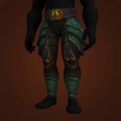 Spearman's Jingling Leggings, Homeguard Leggings, Saurok Stalker's Legguards, Spearman's Jingling Leggings Model