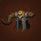 Broken Ram Skull Helm Model