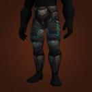 Relentless Gladiator's Plate Legguards Model
