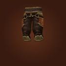 Furious Gladiator's Silk Trousers Model