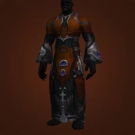 Primal Gladiator's Robes of Prowess, Primal Gladiator's Satin Robe Model