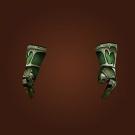 Fel Iron Chain Gloves Model
