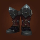 Blackrock Chain Boots, Warpscale Greaves, Wildwood Wrangler Sabatons, Deathweb Greaves Model