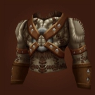 Hyper-Amplified Natural Leather Vest, Taunka Tunic, Tunic of the Rectified Thane, Muradin Chestpiece Model