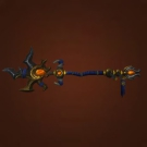 Tyrannical Gladiator's Battle Staff Model
