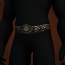 Belt of Meditative Focus, Spirestrider Belt, Stormsteppe Belt, Stormsteppe Chain Belt Model