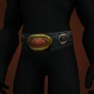 Belt of the Hero, Fiery Loop, Sister Elsington's Belt, Durable Belt Model