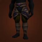 Leggings of Northern Lights, Sanctified Ahn'Kahar Blood Hunter's Legguards Model