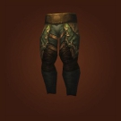 Leggings of Late Blooms, Leggings of Clutching Roots, Vicious Wyrmhide Legs Model