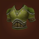 Forest Leather Chestpiece Model