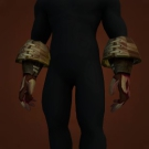 Sanctified Dark Coven Gloves Model