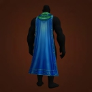 Spidersilk Drape, Glyphed Cloak, Gaea's Cloak, Ogre Slayer's Cover, Resolute Cape, Brute Cloak of the Ogre-Magi, Subterranean Waterfall Shroud, Subterranean Waterfall Shroud, Rippling Azure Cloak, Fluttering Sapphiron Drape, Flowing Sapphiron Drape Model