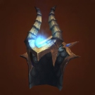 Crafted Dreadful Gladiator's Mooncloth Helm Model