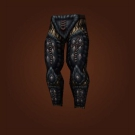 Riplash Leggings, Whalehunter Leggings, Snowfall Reaver Leggings, Patchhide Pants, Leggings of Anger Management, Iron-Shatter Leggings, Supple Bloodbinder's Leggings Model