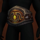 Belt of Broken Bones, Coldwraith Links, Malevolent Girdle, Verdigris Chain Belt Model