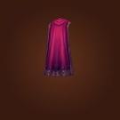 Mutineer's Cloak, Silky Velvet Cloak Model