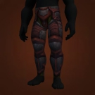 Deadly Gladiator's Plate Legguards Model