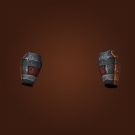 Crimson Carapace Bracers, Fleshmelter Bracers, Bracers of Visceral Force Model