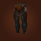 Primal Gladiator's Satin Leggings Model