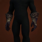 Crafted Malevolent Gladiator's Felweave Handguards, Malevolent Gladiator's Felweave Handguards, Malevolent Gladiator's Felweave Handguards Model