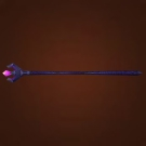 Flaming Quartz Staff Model
