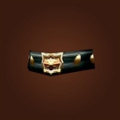 Imposing Belt, Grand Belt, Nightshade Girdle Model