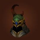 Crafted Malevolent Gladiator's Dragonhide Helm, Crafted Malevolent Gladiator's Kodohide Helm, Crafted Malevolent Gladiator's Wyrmhide Helm Model