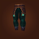 Legguards of Scintillating Scales, Conduit-Breaker Chain Leggings, Leggings of the Violent Gale, Legwraps of the Witch Doctor, Legguards of the Witch Doctor, Kilt of the Witch Doctor Model