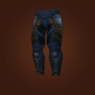 Black Dragonskin Breeches, Legguards of Untimely Demise, Blackened Ghoul Skin Leggings Model