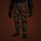 Furious Gladiator's Scaled Legguards, Furious Gladiator's Ornamented Legplates Model