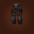 Savage Gladiator's Leather Legguards Model