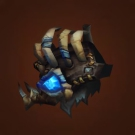 Dreadful Gladiator's Leather Spaulders, Crafted Dreadful Gladiator's Leather Spaulders Model