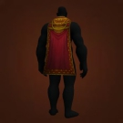Brash Cloak, Bloodlust Cape, Stormpike Soldier's Cloak Model