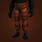 Volcanic Leggings, Inferno Hardened Leggings Model