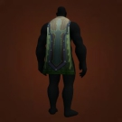 Swamplight Cloak, Mirkfallon Cloak, Bait-Stained Drape, Mereldar Cloak, Blackwolf Cloak Model