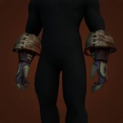 Gunship Captain's Mittens, Sanctified Dark Coven Gloves Model