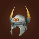 Horned Viking Helmet Model