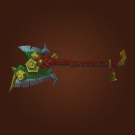 Barbarian Broadaxe, Mushan Chopper, Rigid Broadaxe, Fellworth's Repetitive Greataxe Model