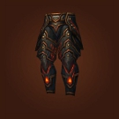 Legguards of the Unseeing, Sky Strider Greaves, Magma Plated Legplates, Magma Plated Legguards Model