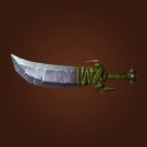 Stoneblade Slicer, Sword of the Caged Mind, Primitive Scimitar Model