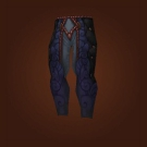 Leggings of Ebon Veins, Saddle-Scarred Leggings Model