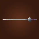 Speedsteel Rapier, Dazzling Mithril Rapier, Windforged Rapier Model