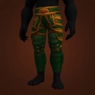Green Iron Leggings Model