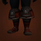 Blighted Leather Footpads Model