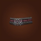 Scaled Leather Belt, Infiltrator Cord, Sunroc Waistband Model