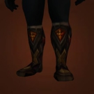 Toxin-Tempered Sabatons, Boots of Heartfelt Repentance Model