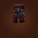 Battle Chain Pants, Crystal-Studded Legguards Model